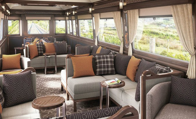 Luxury Travel Ireland First Train Arrives In 2016