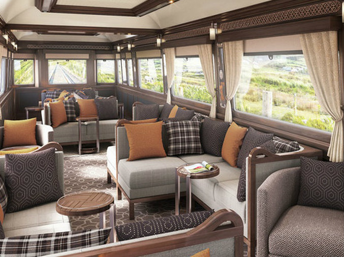 Luxury travel: Ireland first Luxury Train arrives in 2016