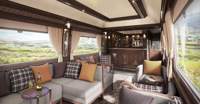 Luxurytravel Ireland first Luxury Train arrives in 2016 luxxu blog 10  Luxury travel: Ireland first Luxury Train arrives in 2016 kildare observation car 1