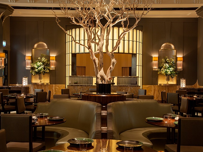 Best of Lighting Design Awards 2015 luxxu blog restaurant interior lighting design Lighting Design Best of Lighting Design Awards 2015 Fera at Claridges 2