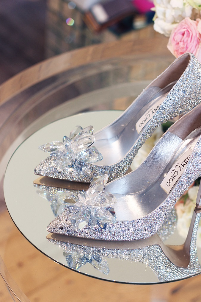 Jimmy Choo Cinderella Modern Design Shoes modern design Jimmy Choo creates modern design Cinderella Shoe worthy of Fairy tale Jimmy Choo Cinderella Wedding Shoes Quintesentially Weddings The Elgin Avenue