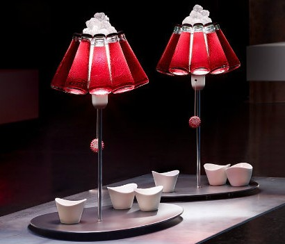 Modern design table lamps for luxury hotels luxxu blog campari table lamp design