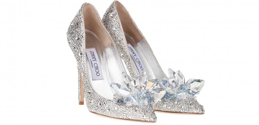 Jimmy Choo's Cinderella Modern design Shoe