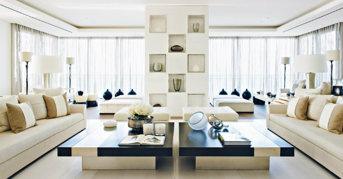 Contemporary design by Kelly Hoppen