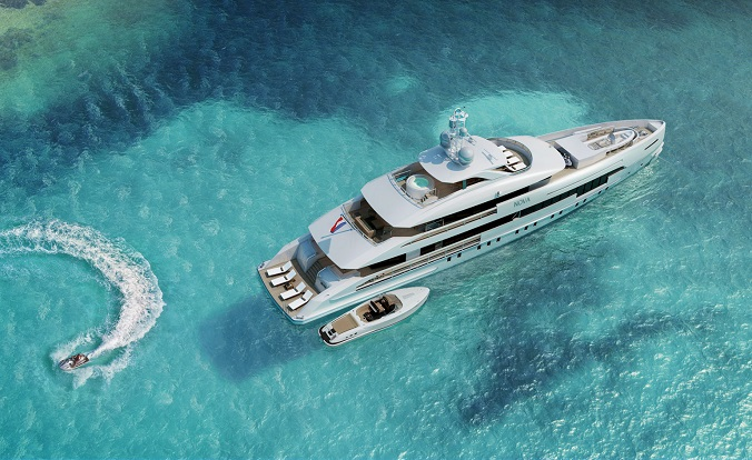 The best of luxury design at Monaco Yacht Show 2015 luxxu blog yacht show Monaco The best of luxury design at Monaco Yacht Show 2015 heesen 3