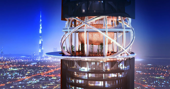 Meet the stunning architecture of Dubai's Hotel and Tower