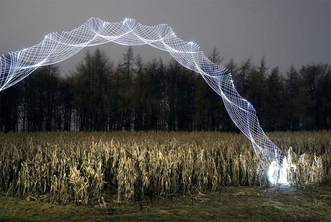 Tornadoes: A Lighting Design by Martin Kimbell blog luxxu lighting design  Tornadoes: A Lighting Design by Martin Kimbell light tornado martin kimbell