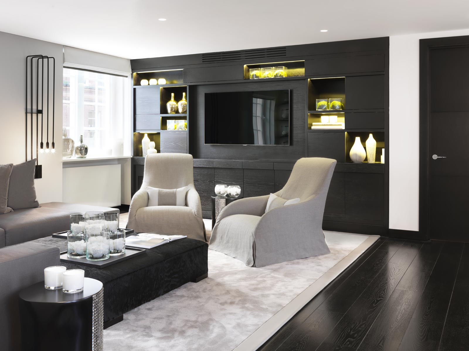 Contemporary living room design kelly hoppen Top 10 Kelly Hoppen Design Ideas pied a terre london3
