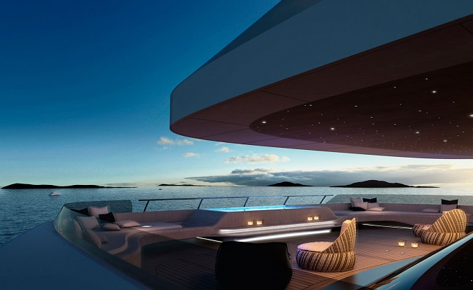 The best of luxury design at Monaco Yacht Show 2015 luxxu blog ottantacinque luxury yacht Monaco The best of luxury design at Monaco Yacht Show 2015 pininfarina 03