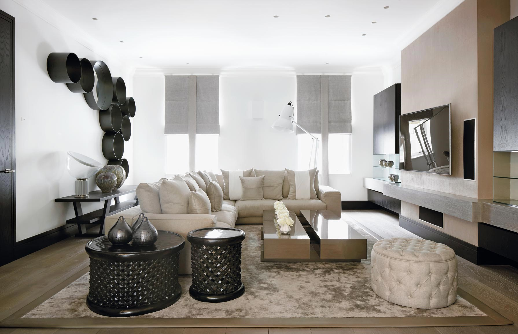 Family home living room design kelly hoppen Top 10 Kelly Hoppen Design Ideas the family home london3
