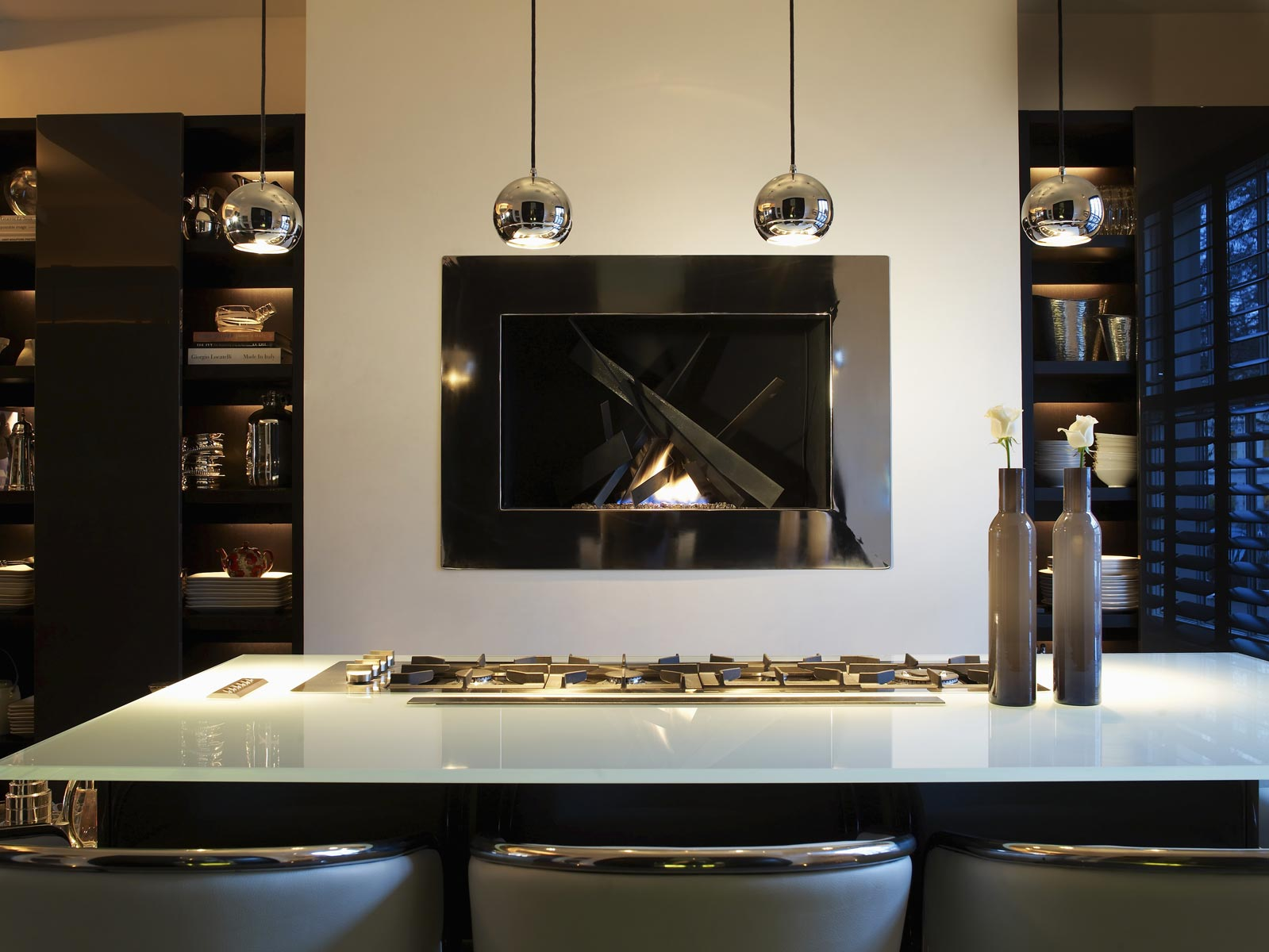 Modern Kitchen Design At The Town House London Kelly Hoppen Top 10 Ideas