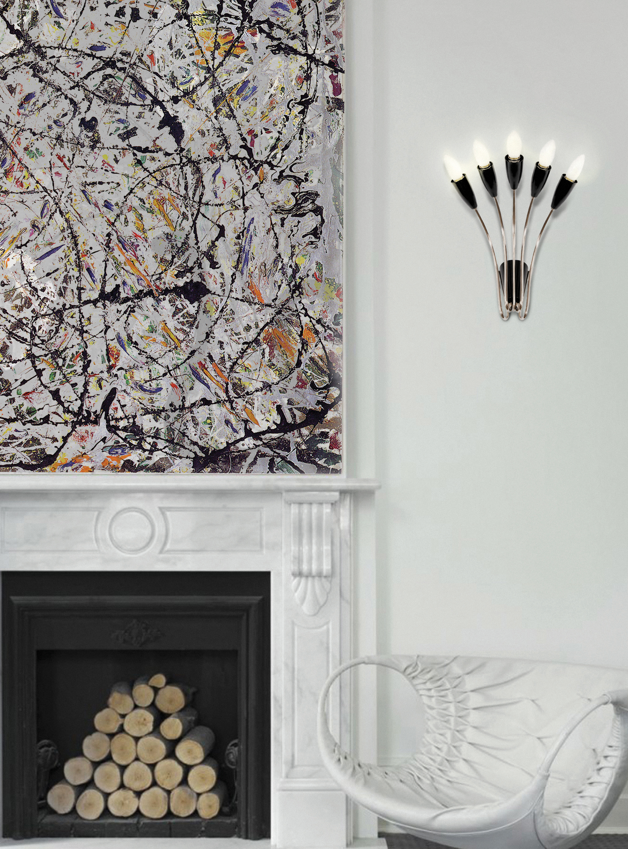 Norah wall lamp by Delightfull wall lamps Top 20 luxury wall lamps 8a delightfull norah 01