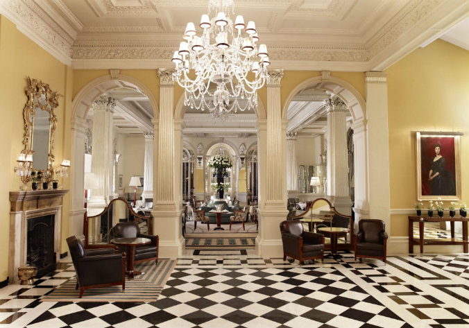 Claridge's, London lighting design lighting design Most famous hotels with luxurious lighting design Claridge   s London