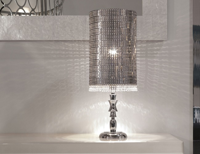 Crystals table lamps modern table lamps Top 20 Modern Table Lamps IQB8pendragon