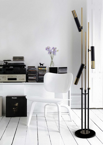 Ike lamp by Delightfull floor lamps Top 20 Modern Floor Lamps Ike lamp by Delightfull