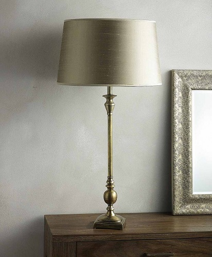 Silver modern table lamps modern table lamps Top 20 Modern Table Lamps Silver color antique table lamp 844x1024