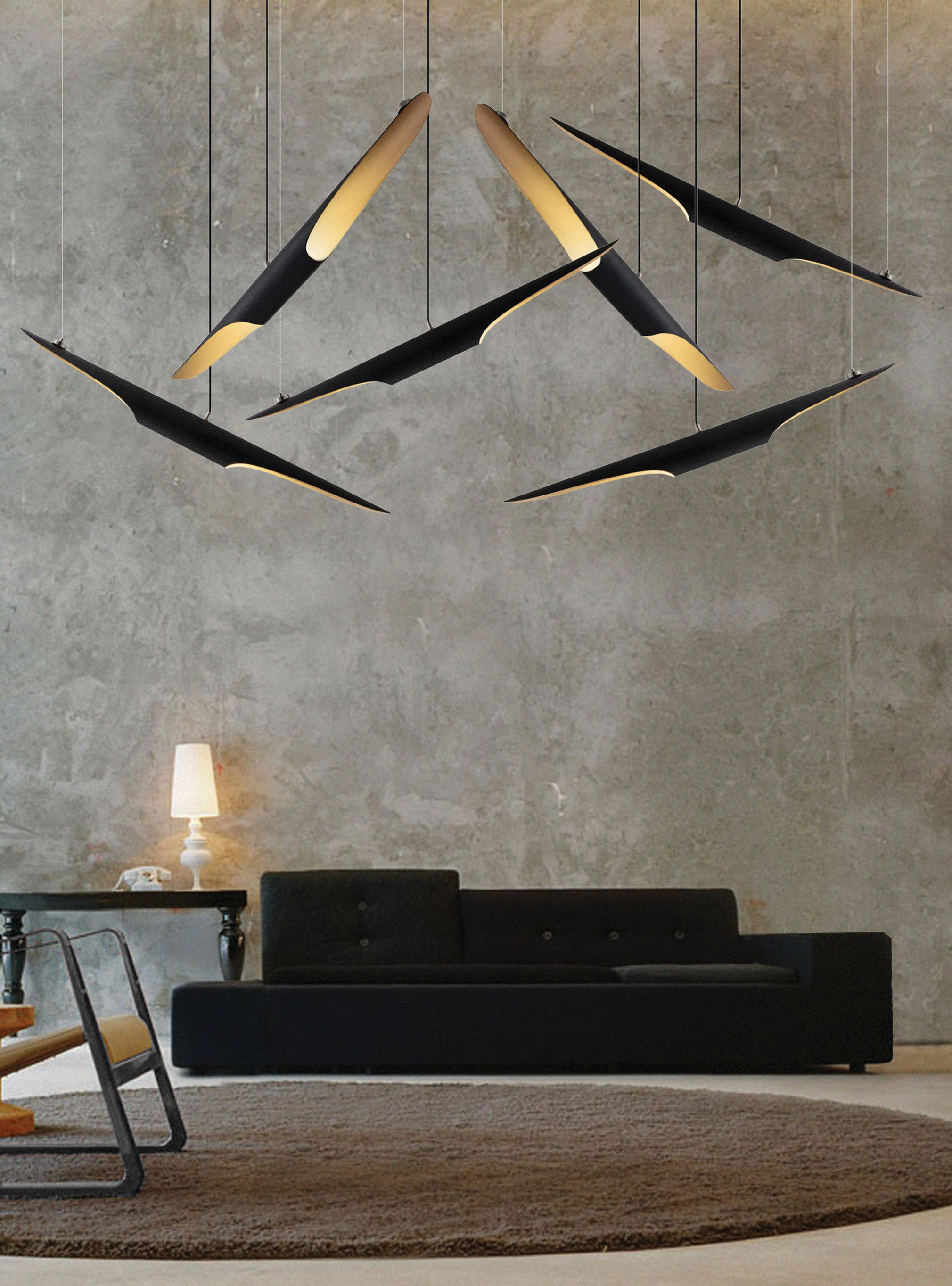 Coltrane lamp by Delightfull luxury lighting Top 20 Pendant Luxury Lighting coltrane suspension 10 HD
