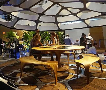 Zaha Hadid Modern Pavilion