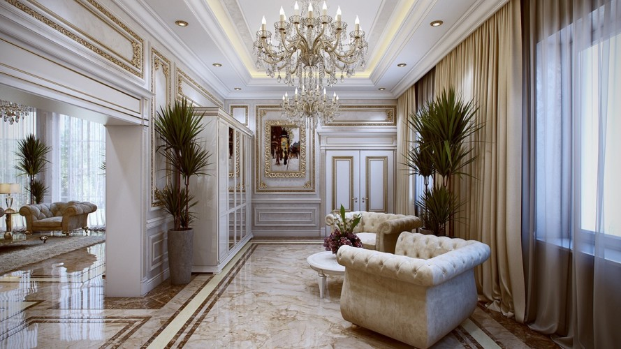 Luxurious Interiors Inspired By Louis Era French Design 5