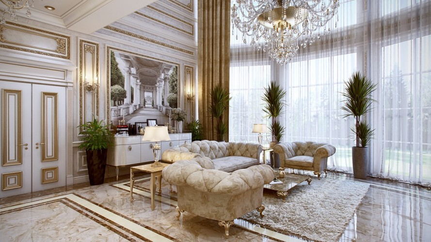 Luxurious Interiors Inspired By Louis Era French Design