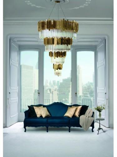 lighting 10 Luxury Rooms with lighting Golden Details Empire2 e1453281314426