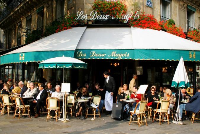 Top Coffee Shops in Paris les deux magots paris Top Coffee Shops in Paris Top Coffee Shops in Paris les deux magots e1452158278344