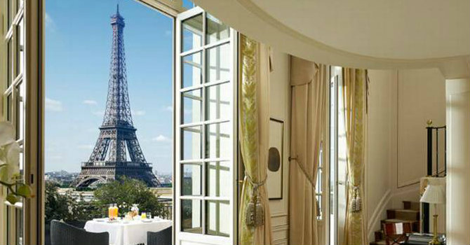 Best luxury hotels to stay in Paris