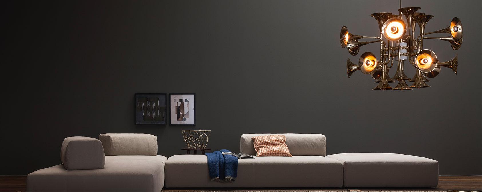 10 Luxury Rooms with lighting Golden Details