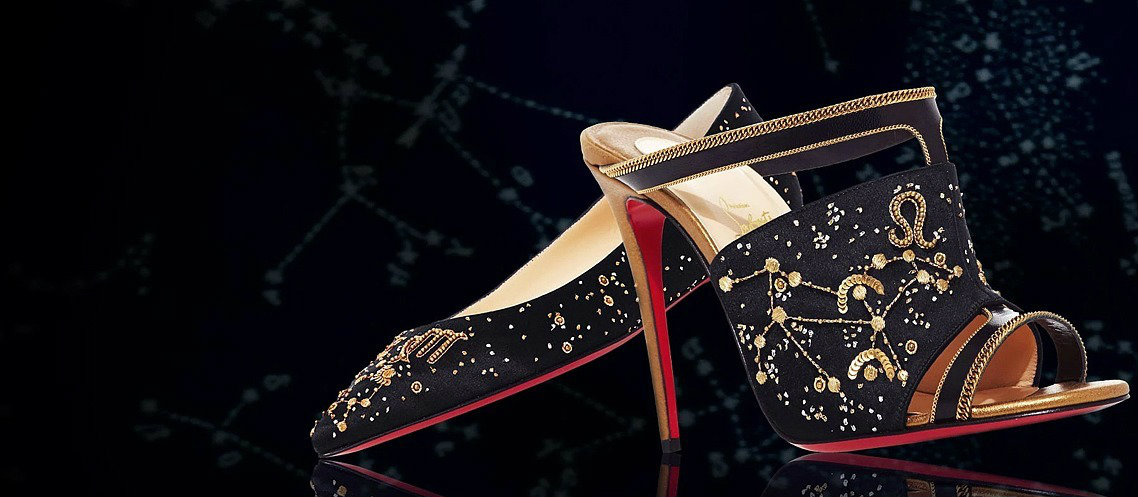Christian Louboutin launches a collection inspired by Astrology