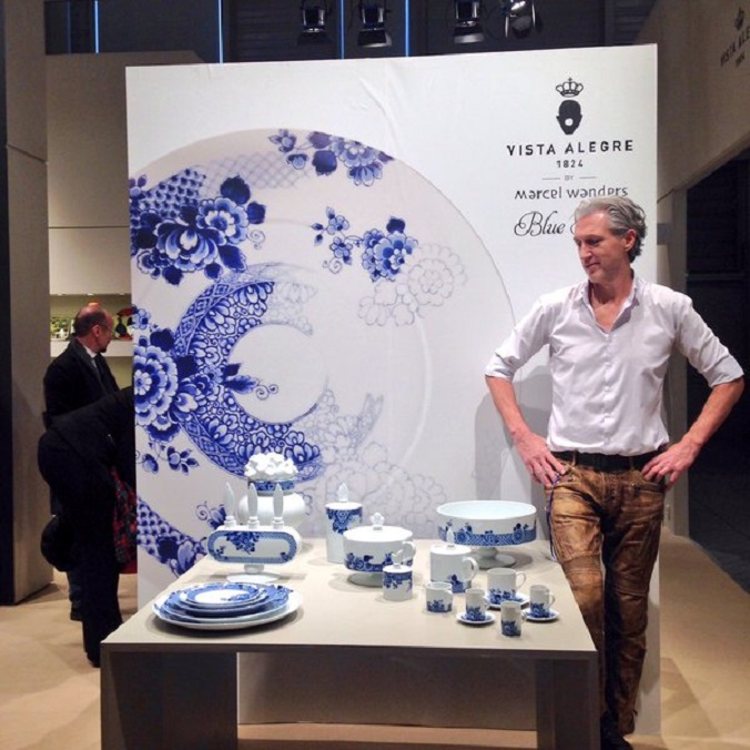 Find the new collection of Marcel Wanders and Vista Alegre collection