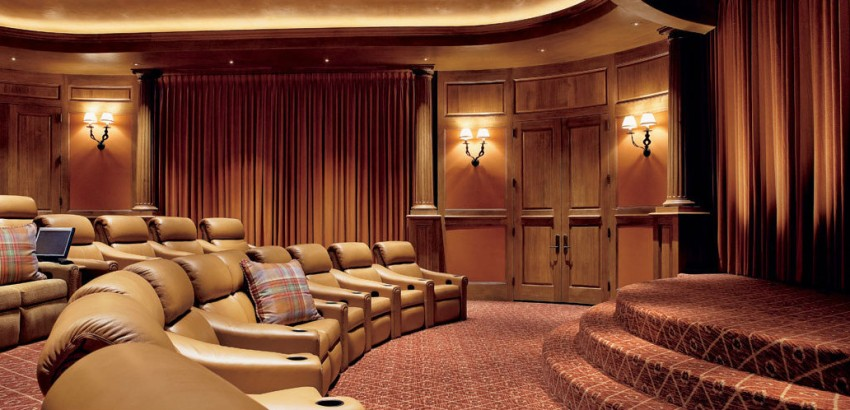 home theater designs for a movie night - Home Theatre Designs