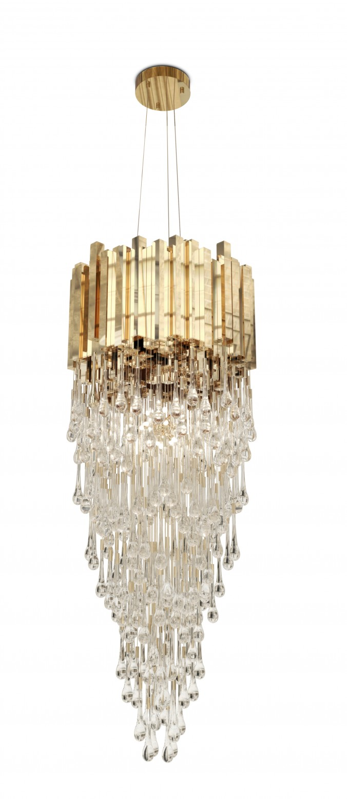 Trump Chandelier Gold 10 Ways to Add Gold to Your Interiors Trump Chandelier e1455700109821