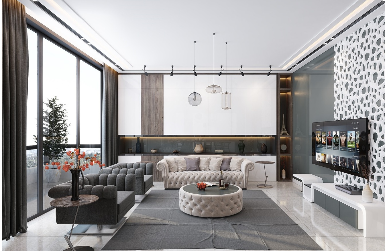 Inspiration ultra luxury apartment design for Designs of the interior