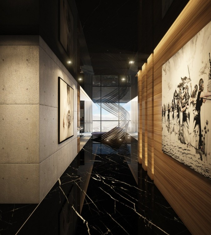 Ultra Luxury Apartment Design hallway luxury apartment Inspiration: Ultra Luxury Apartment Design Ultra Luxury Apartment Design hallway e1455617775348