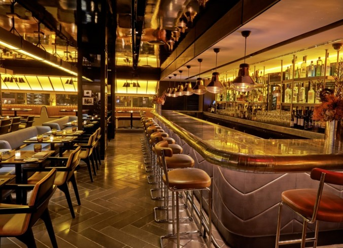 Elegant Luxury Design Ideas From Paramount Hotel In New York Bar Paramount Hotel Luxury  Design Ideas From