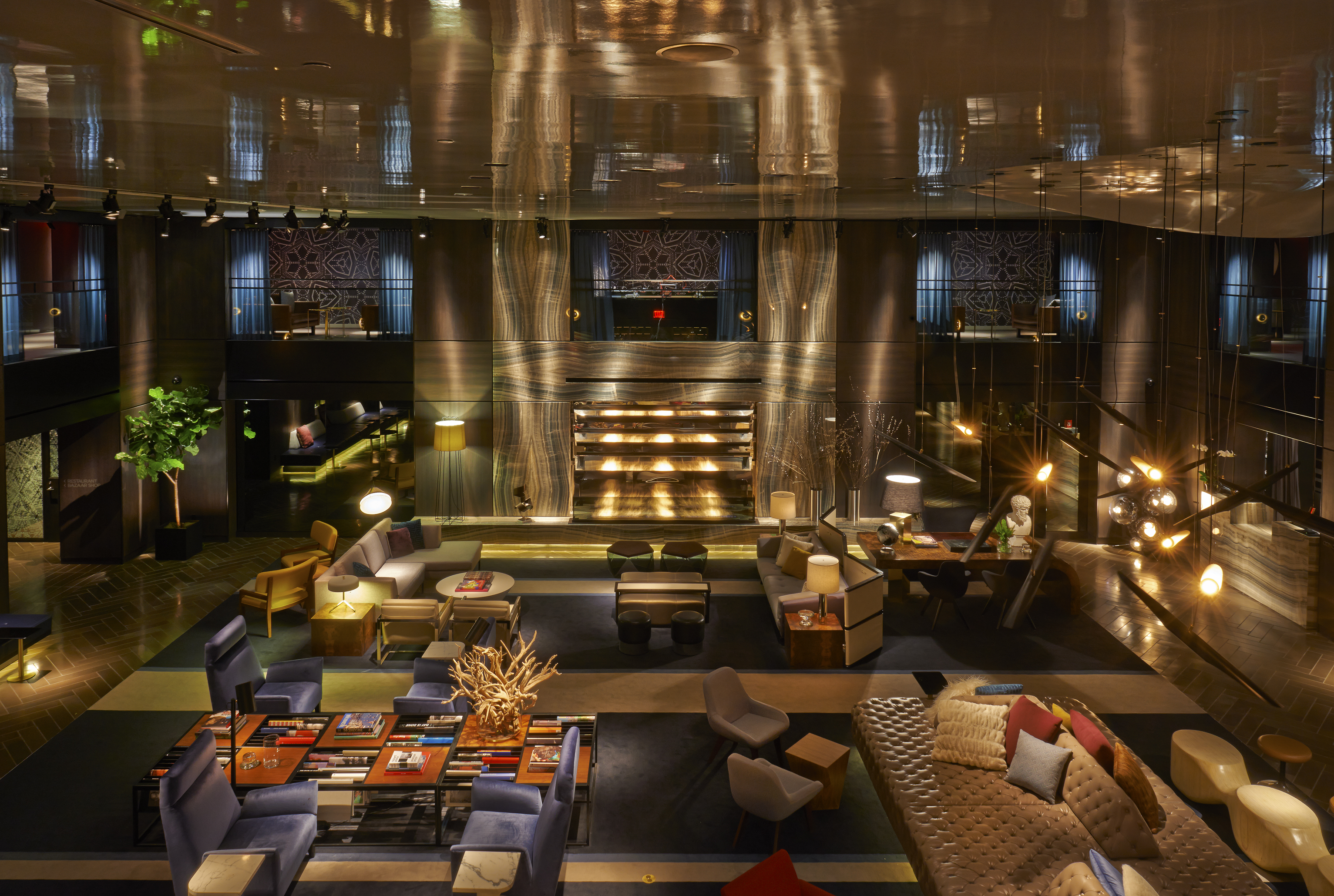 Luxury design ideas from paramount hotel in new york for Best boutique hotels nyc 2016