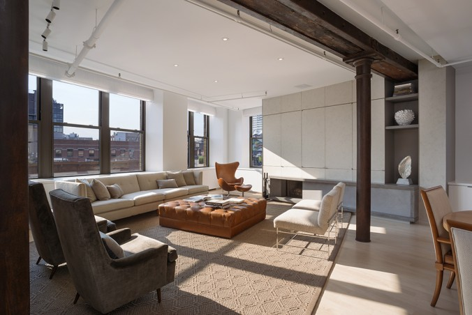 13th Street Loft, Location: New York NY, Architect: Leone Design Studio Peter Marino Luxury interiors by Peter Marino Luxury interiors by Peter Marino loft e1458570357518