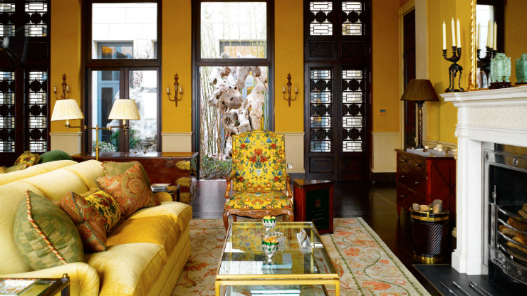 Top 5 interior design projects by Nina Campbell living room Nina Campbell Top interior design projects by Nina Campbell Top 5 interior design projects by Nina Campbell living room