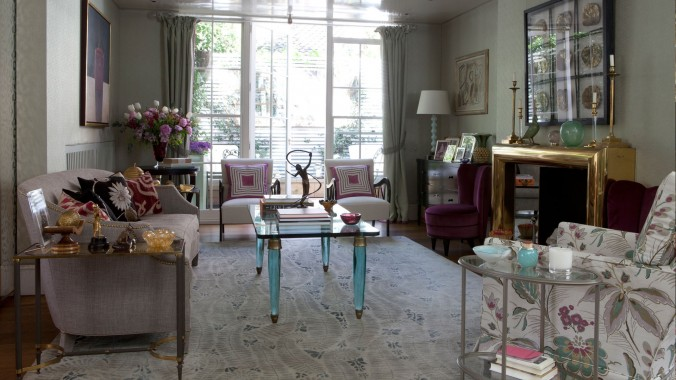 Top 5 interior design projects by Nina Campbell townhouse Nina Campbell Top interior design projects by Nina Campbell Top 5 interior design projects by Nina Campbell townhouse e1458138374563