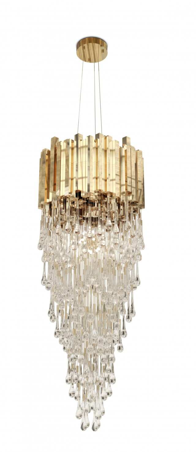 LUXXU's designs that you can find at iSaloni isaloni LUXXU's designs that you can find at iSaloni Trump Chandelier e1459256729499