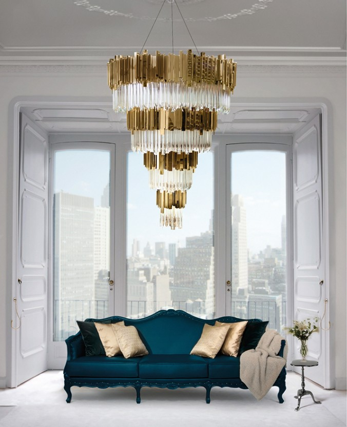 Brighten up your home with gold accents gold accents Brighten up your home with gold accents empire chandelier ambience 011 e1457696235383