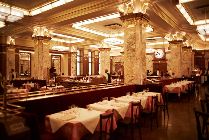 Brasserie Zédel restaurants design restaurants design 7 Beautiful Restaurants Design That You Will Love Brasserie Ze  del restaurants design