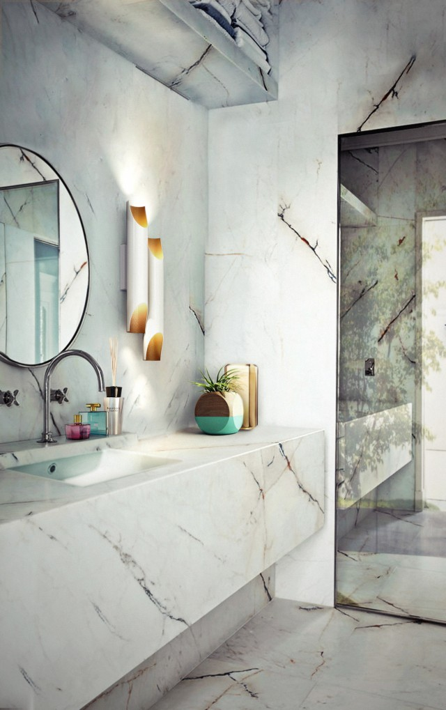 lighting Light up your bathroom with the best lighting designs Light up your bathroom with the best lighting designs delightfull e1460111774133