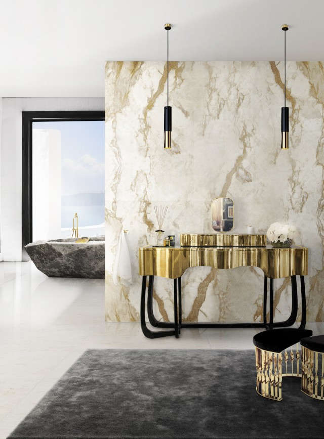 lighting Light up your bathroom with the best lighting designs Light up your bathroom with the best lighting designs maison valentina e1460111915179