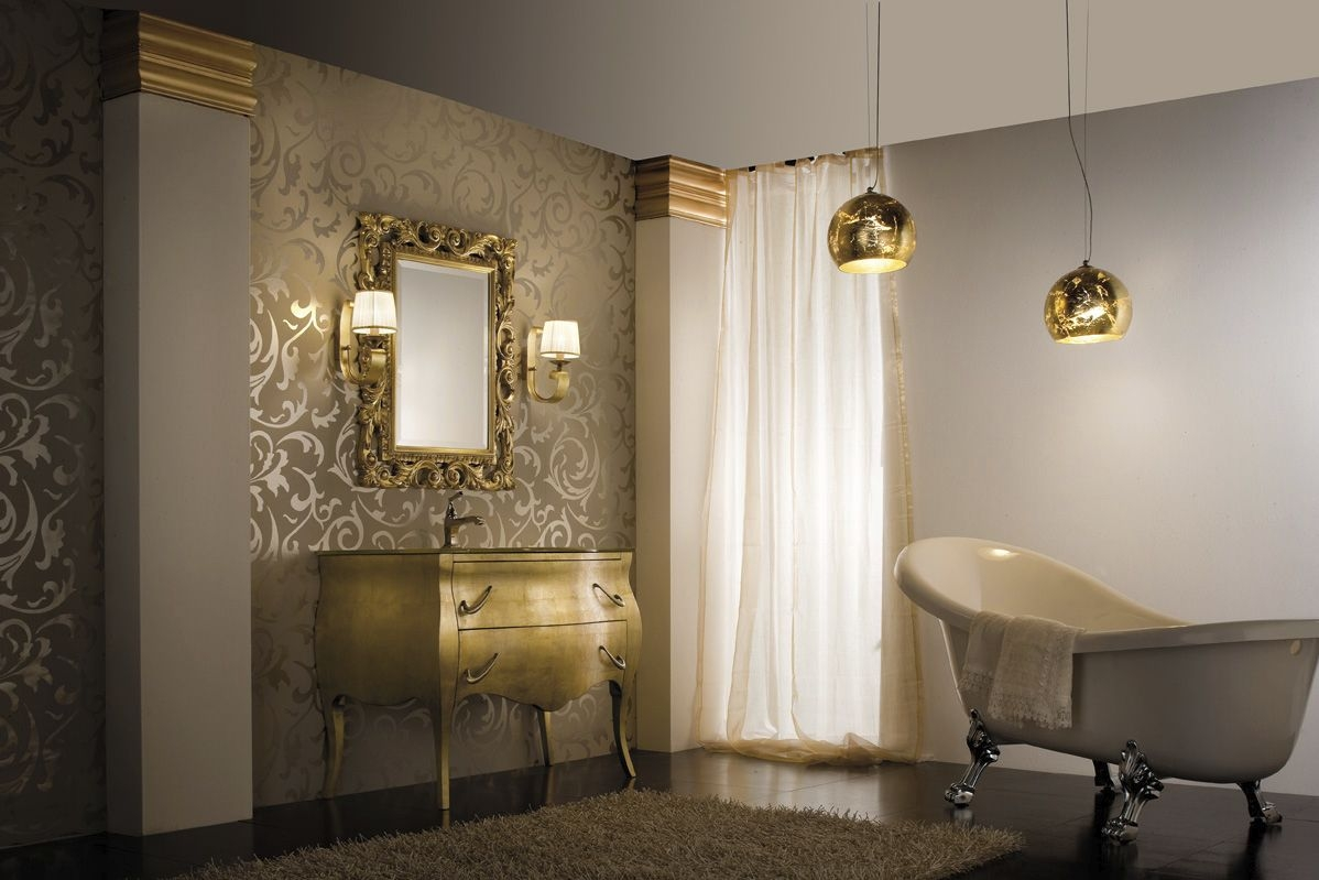 Light up your bathroom with the best lighting designs for Salle de bain baroque
