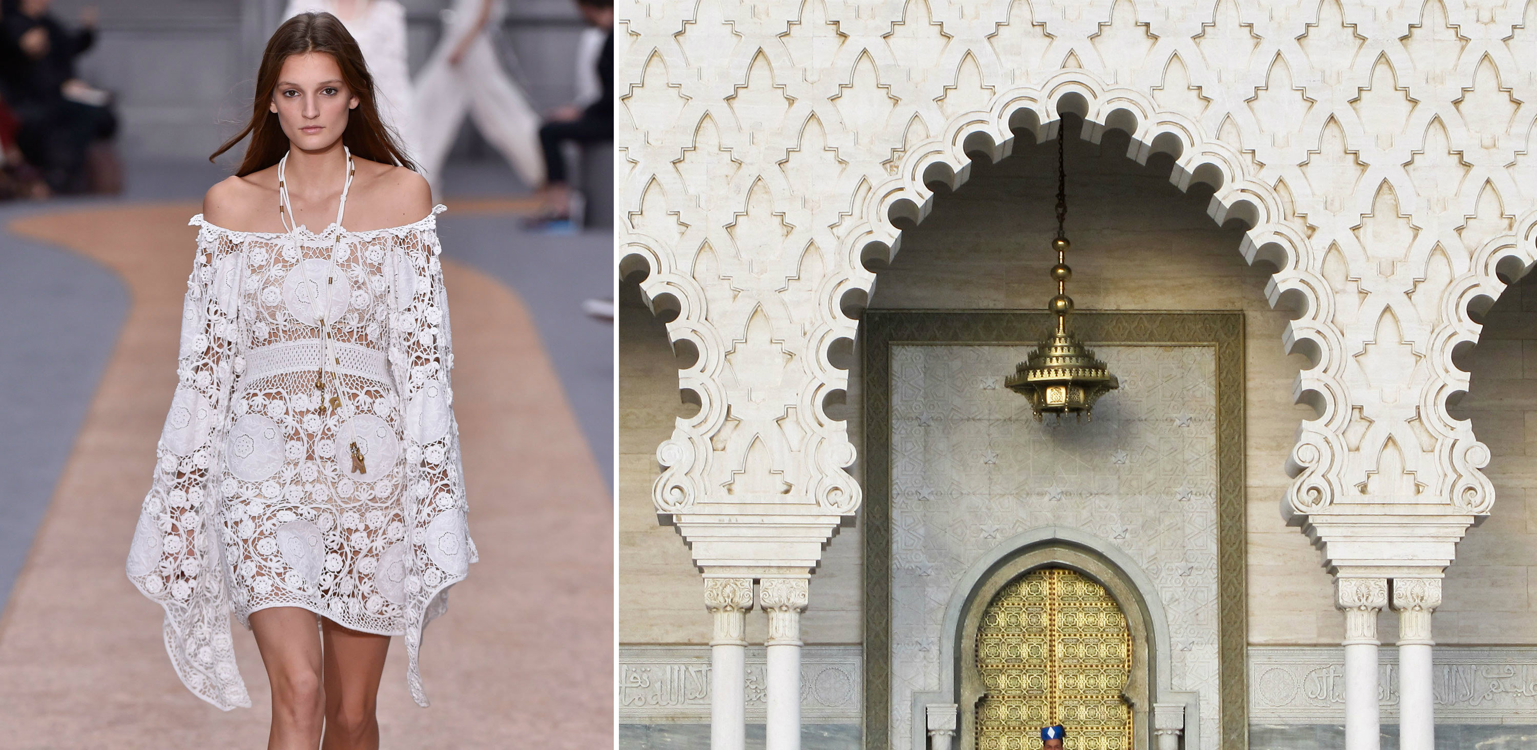Find what happens when fashion meets architecture