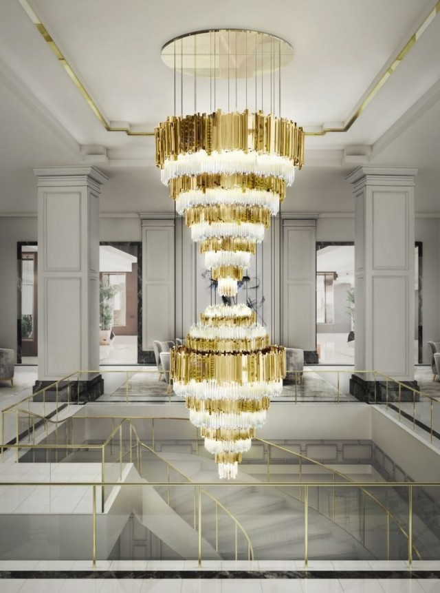 Empire XL chandelier Perfect chandeliers for luxurious hotels Empire XL e1463999097894
