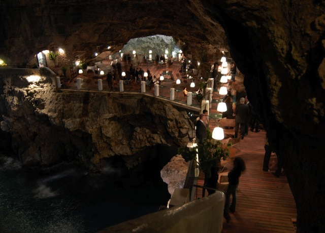 Boutique Hotel Grotta Palazzese Luxury restaurants: Boutique Hotel Grotta Palazzese Luxury restaurants an unforgettable experience inside a cave lighting overview