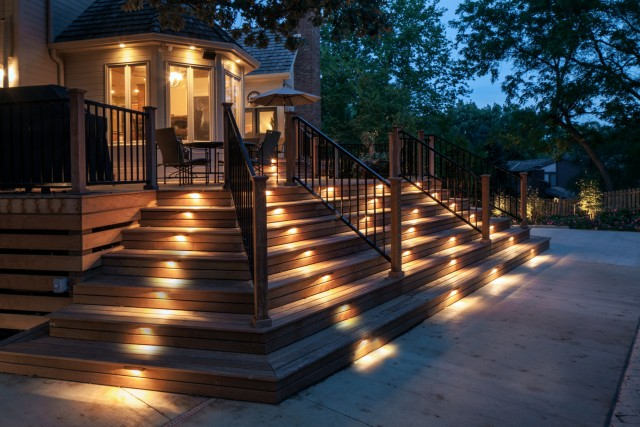 Summer outdoor lighting ideas