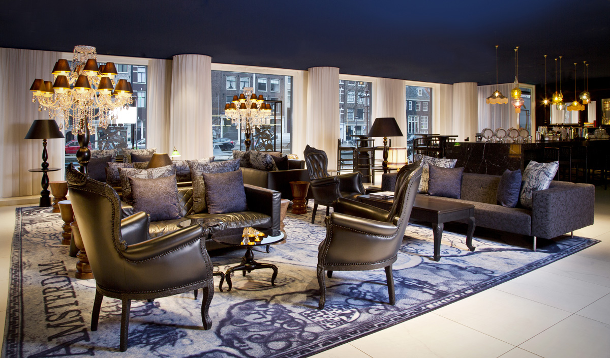 Take a look at andaz amsterdam hotel by marcel wanders for Amsterdam hotel